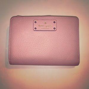 Kate Spade pink mini wallet
